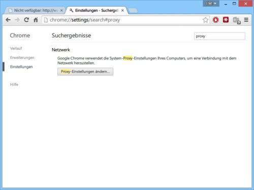 chrome-proxy-einstellungen