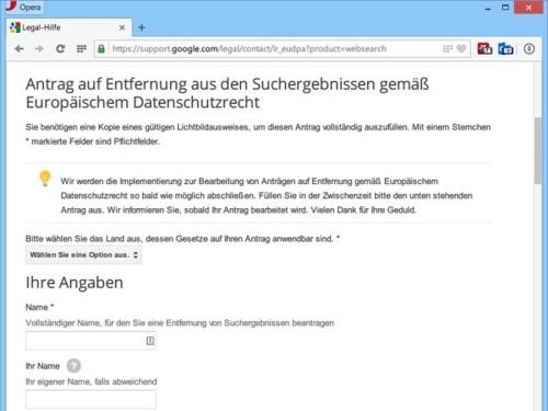 google-eugh-loesch-formular