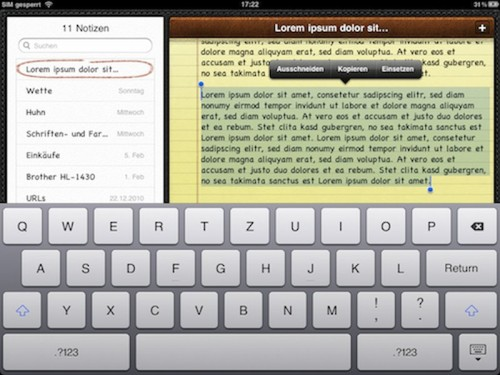 ipad-text-absatz-markieren