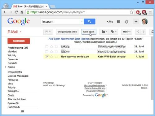 gmail-kein-spam