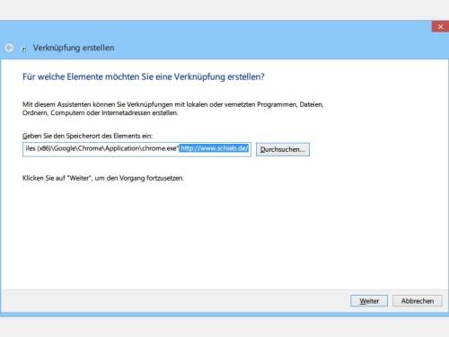 verknuepfung-nicht-standard-browser