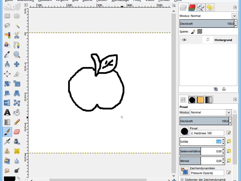 GIMP: Kinder-Malvorlagen selbst zeichnen | schieb.de