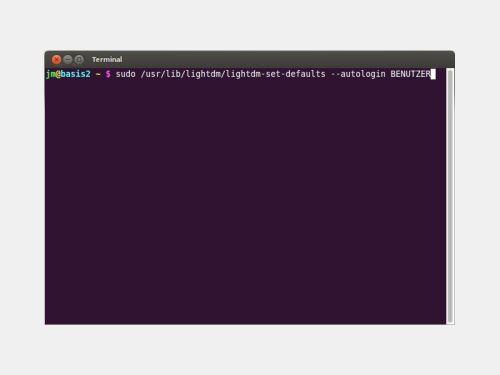 ubuntu-terminal-autologin