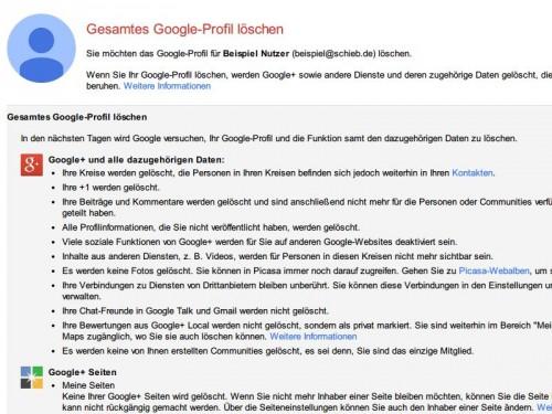 google-plus-loeschen