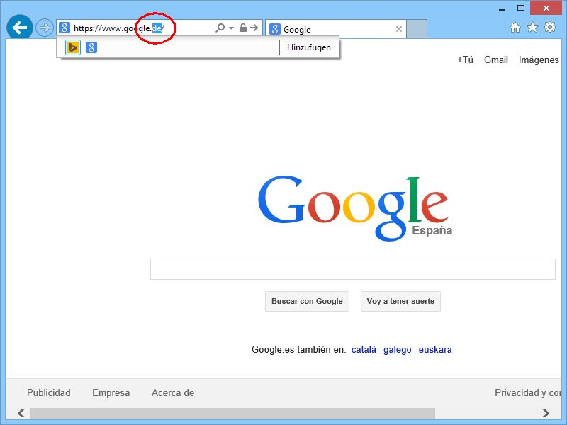 Google Auf Deutsch