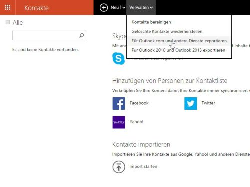 Windows Kontaktliste Ausdrucken Schiebde