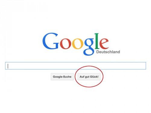 google-suche-auf-gut-glueck