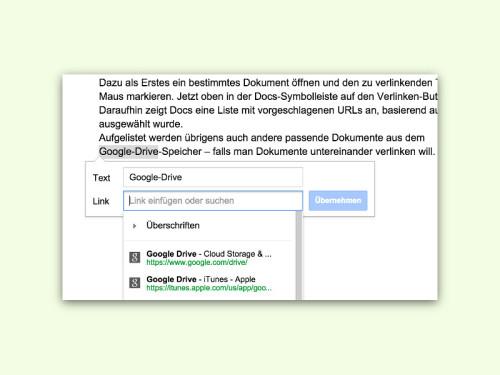 google-docs-link-einfuegen