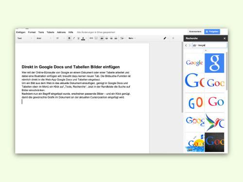 google-docs-recherche