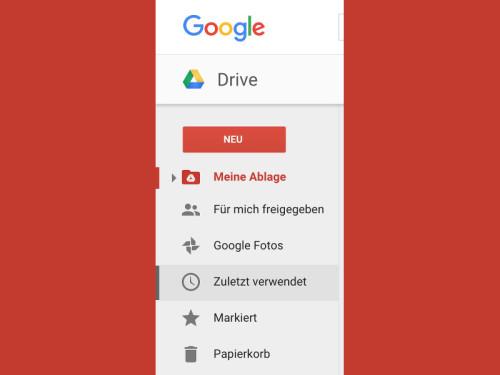 google-drive-menu