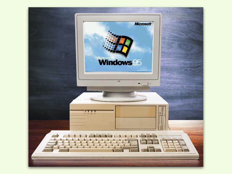nostalgie pur windows 95 direkt im browser laufen lassen. Black Bedroom Furniture Sets. Home Design Ideas