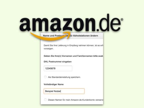 amazon-dhl-postnummer