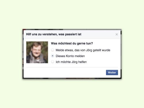 facebook-profil-melden