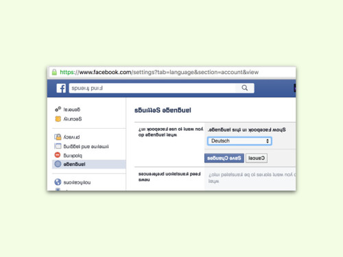 facebook-sprache-aendern