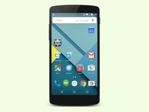 android-start-bildschirm