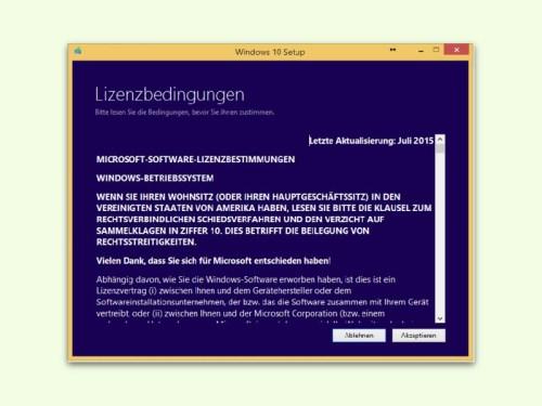 Bei Windows 7 Bleiben
