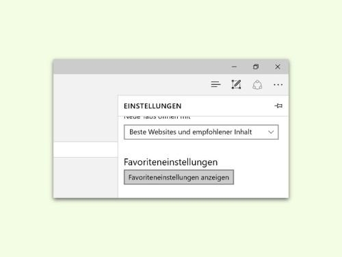 edge-browser-favoriten-einstellungen