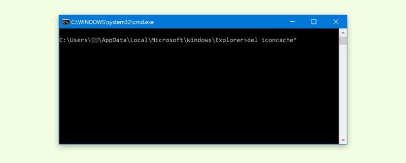 Symbol-Cache zurücksetzen in Windows 10 - schieb de