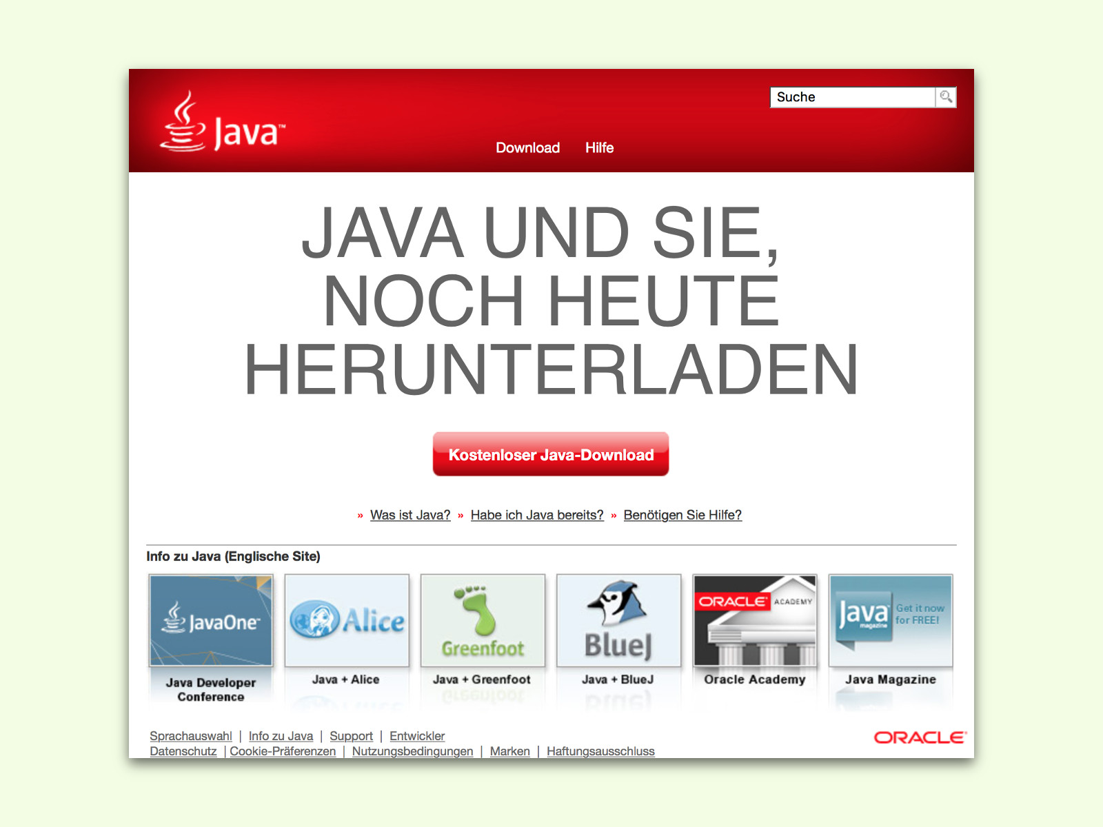 Java Installieren Windows 10