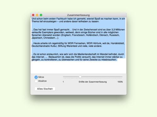 mac-zusammenfassen