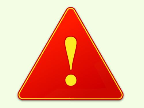 warnung-rot-gelb