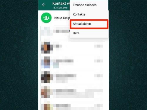 Bekanntschaften über whatsapp