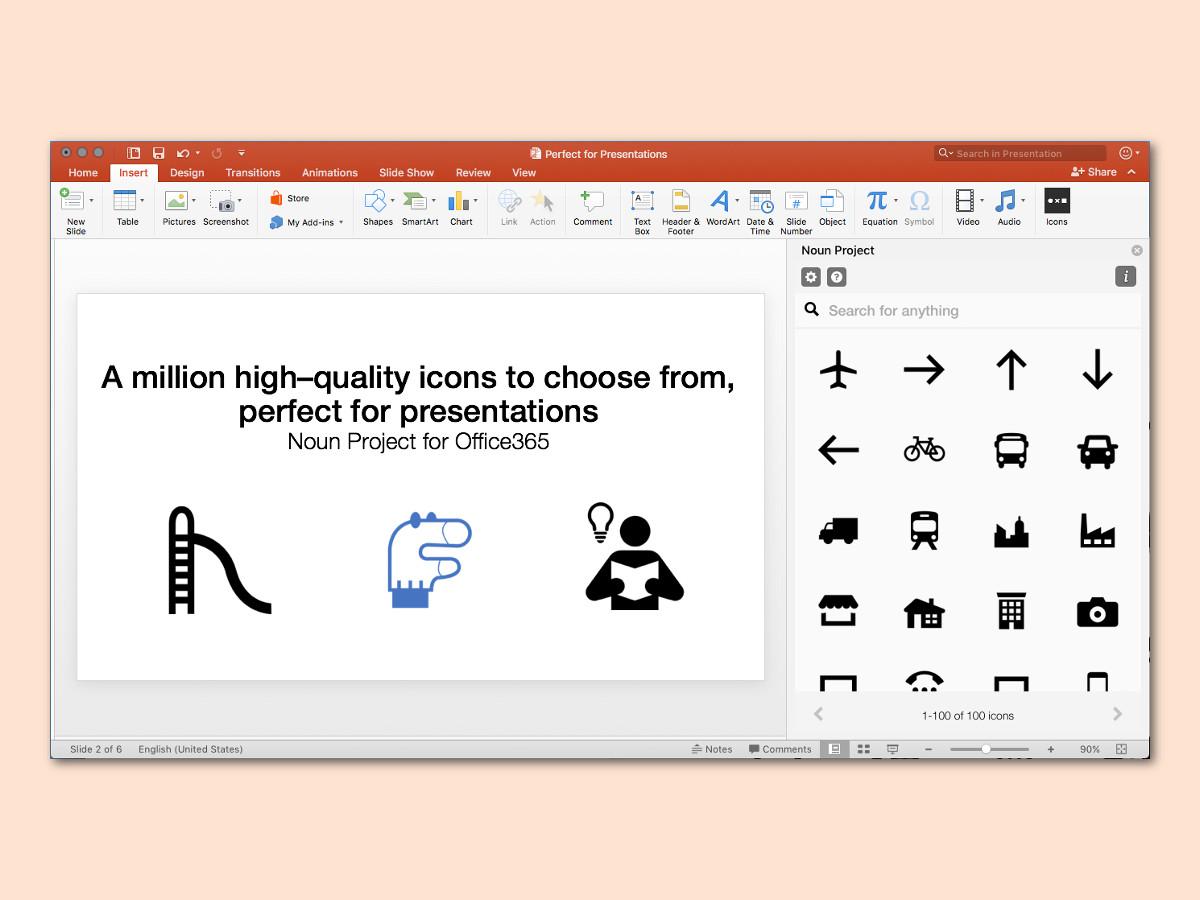 Icon Palette In Word Und Powerpoint Einbauen Schieb De