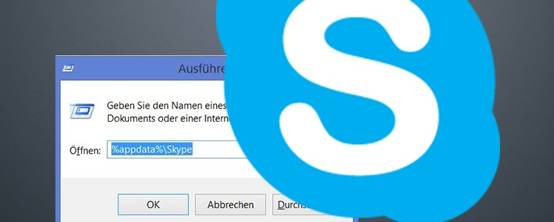 Durch den skype