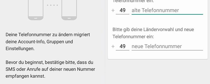 Sim Karte Wechseln Whatsapp.Handynummer In Whatsapp ändern Schieb De