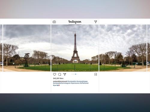 Mehrteilige Panorama Fotos Auf Instagram Teilen Schiebde