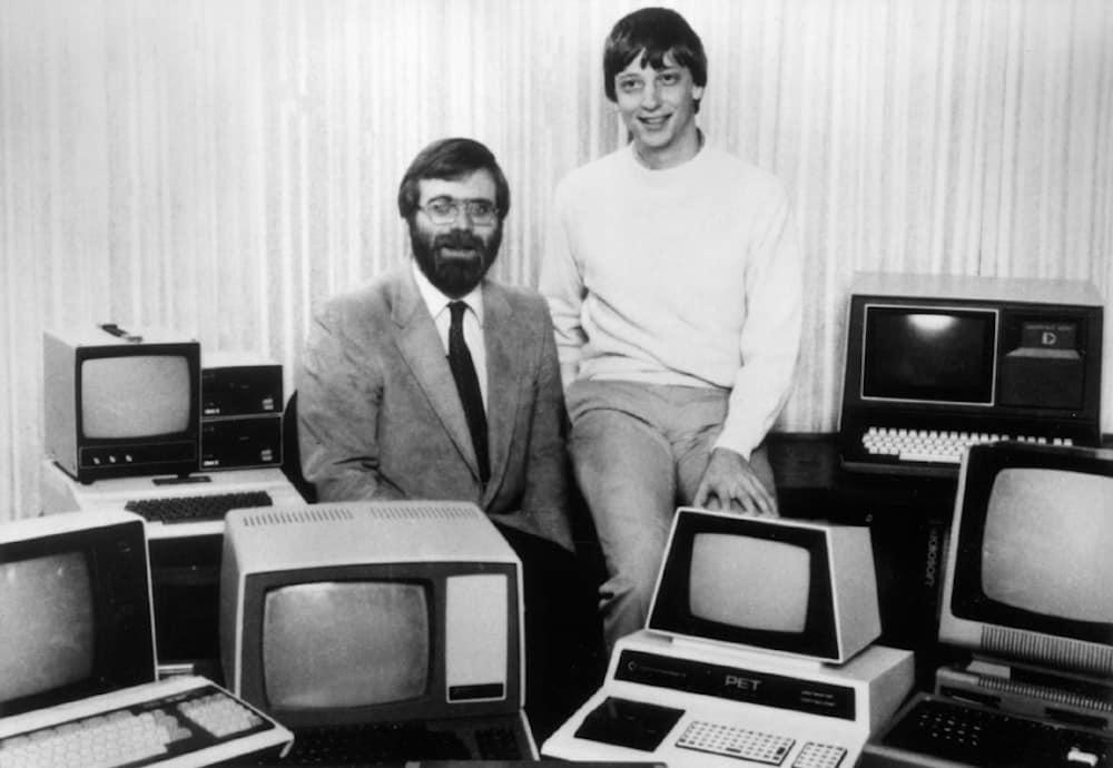 Bill Gates und Paul Allen