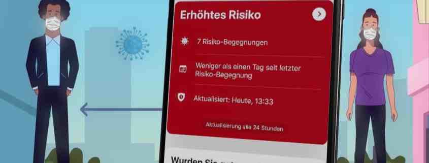 Corona Warn App Risiko