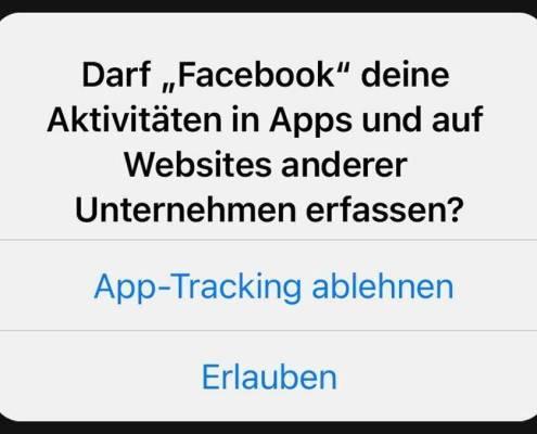 Apples iOS 14.5 fragt bei Trackern nach