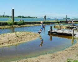 UITWERPSELEN IN WATER NATUURSPEELTUIN MAASSLUIS