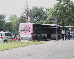 VERDACHTE OVERVAL BUS VLAARDINGEN OPGEPAKT