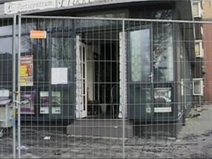 Van de inboedel van Partycentrum Prikkewater bleef niets gespaard. Het bedrijf is momenteel bezig met de verbouwing van het vervangend pand aan  Koningin Wilhelminahaven.