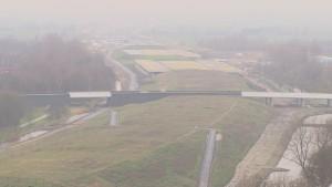 Schiedam werkt aan de realisatie van sportvelden op het dak van de Ketheltunnel.
