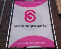 SCHIEDAM VERWACHT PROBLEMEN HARDE KERN STROOMOPWAARTS