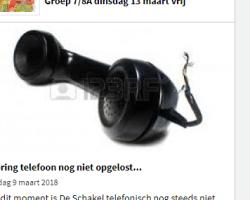 BUUR BLOKKEERT AL 10 DAGEN TELEFOON BASISSCHOOL VLAARDINGEN