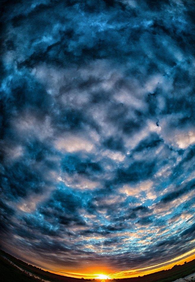 Himmel über der Havel. Foto: Hufner