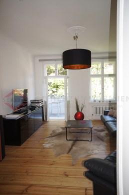 *Ruhige Hoflage* Charmante 2-Zimmer-Altbauwohnung mit Balkon und Dielen in Steglitz, 12163 Berlin, Etagenwohnung