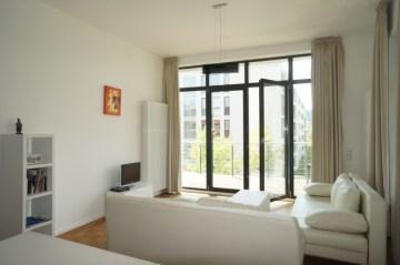 Exklusives Loft mit großer Sonnenterrasse in historischem Baudenkmal *Steinlein Lofts*, 10249 Berlin, Loft/Studio/Atelier