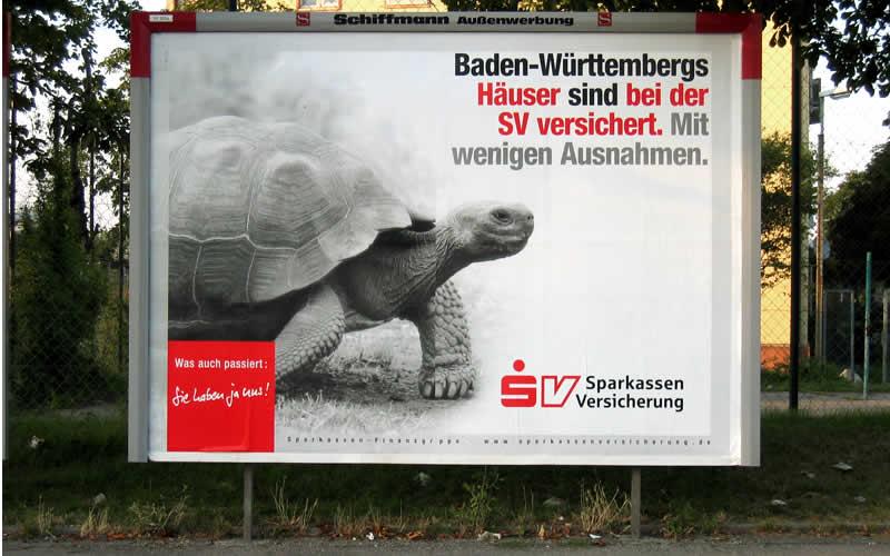 Plakatwerbung Verkehrswerbung Schiffmann Aussenwerbung