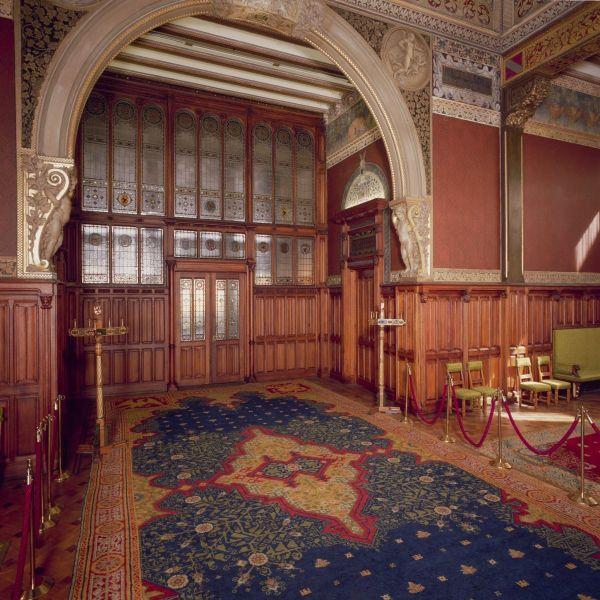 Interieur Koninklijke Wachtkamer