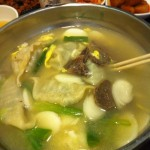 Duk Mandu (Dumpling and Rice Cake Soup)