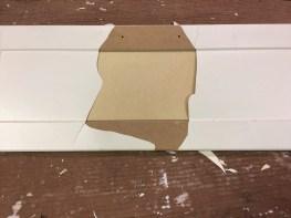 Kunststoflaag verwijderen
