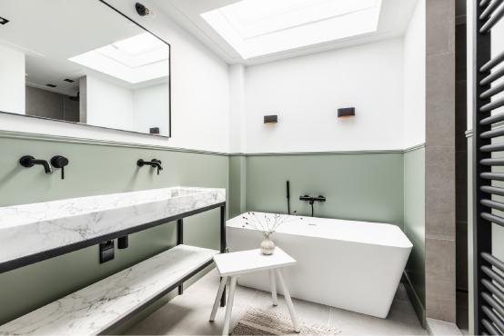 Badkamer schilderwerk
