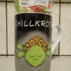 Tasse Chillkröte