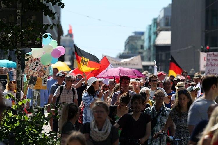 Demo Berlin Morgen