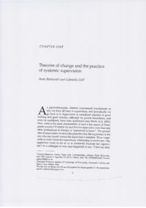 Theories of Change and the Practice of Systemic